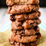 Vegan Chocolate Chip Freezer Cookies