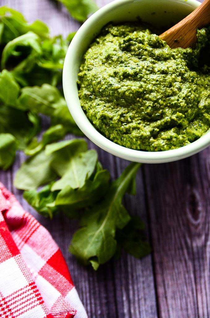 Pesto Farro Salad with Roasted Summer Vegetables
