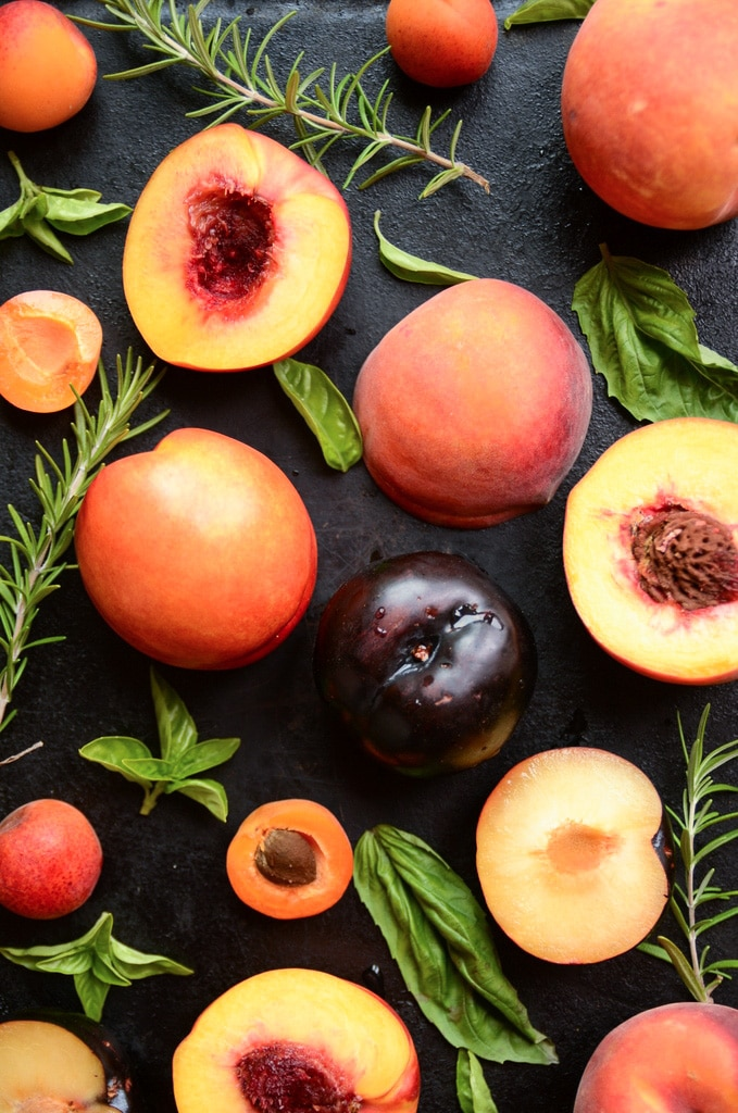 Late Summer Stone Fruit Sangria