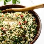 Revitalizing & Raw Cauliflower-Tomato Detox Salad