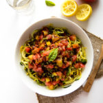 Heirloom Tomato, Basil & Balsamic Zucchini Noodles