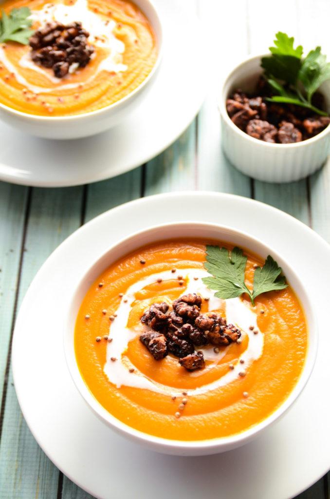 Carrot Lentil Squash Soup