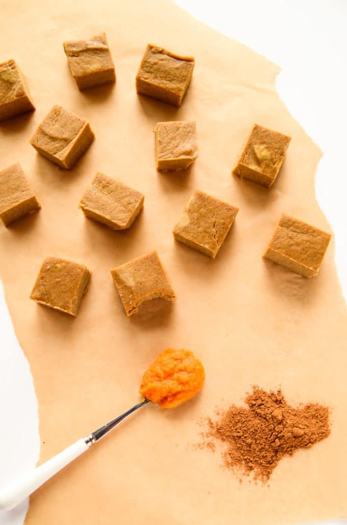 Pumpkin Fudge Healthy Snack