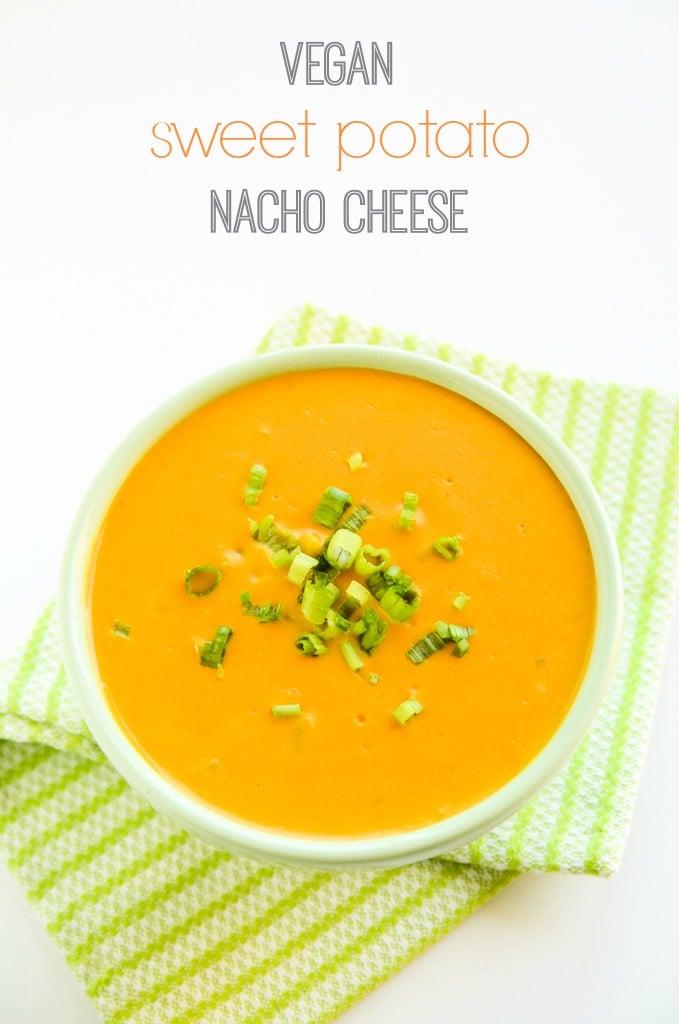 Vegan Sweet Potato Nacho Cheese