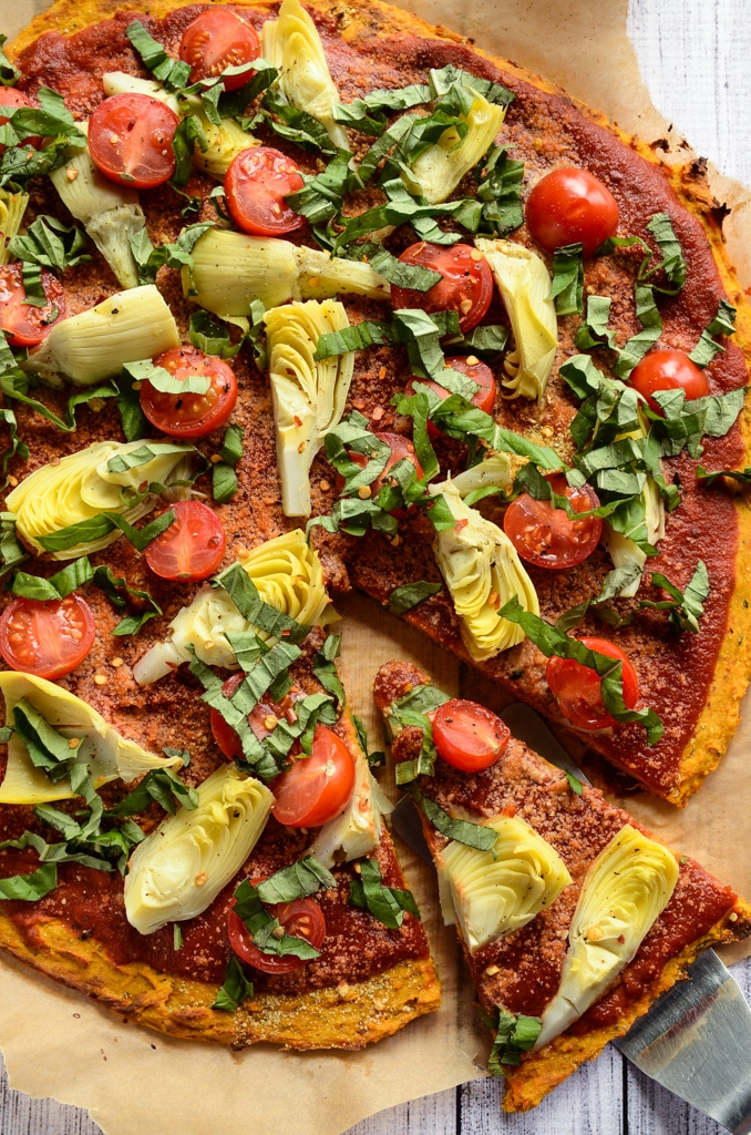 Sweet Potato Pizza Crust