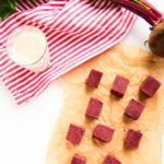 Just Beet It 5-Ingredient Red Velvet Fudge