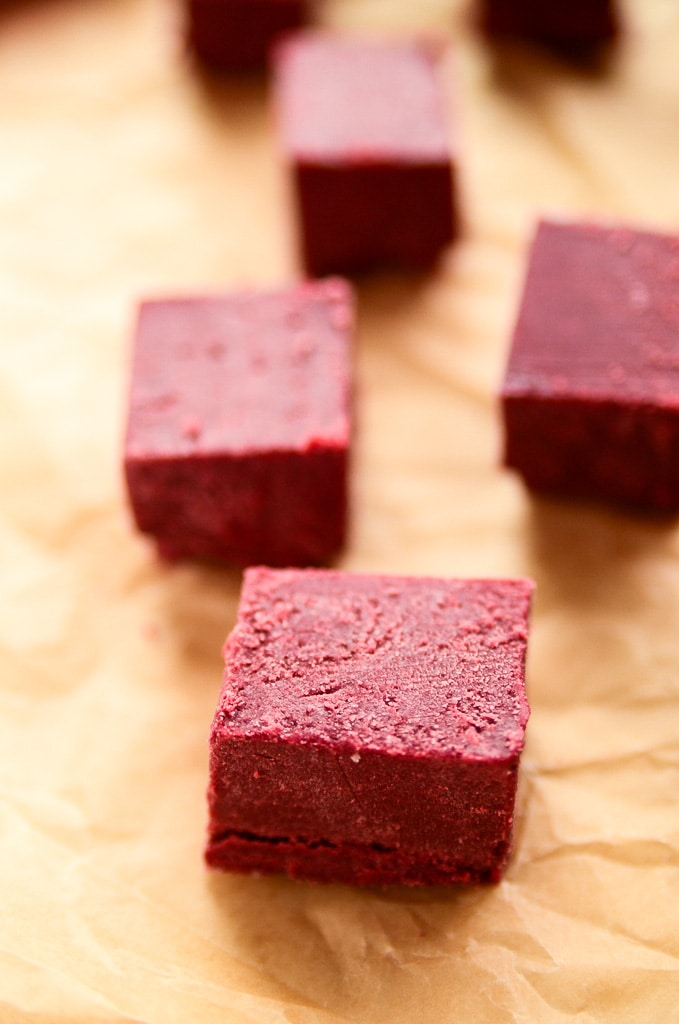 Just Beet It Red Velvet Fudge