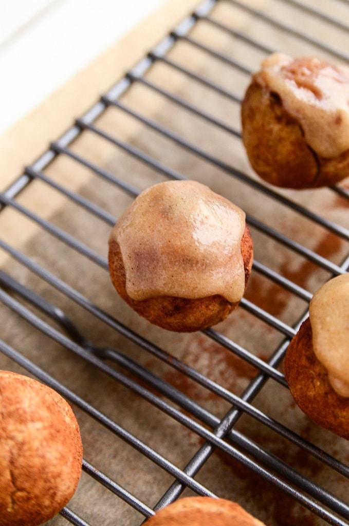 Pumpkin Spice Donut Holes