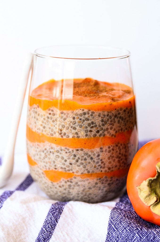 Persimmon Chia Pudding