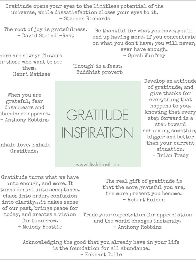 16 Ways to Infuse Your Days with Gratitude