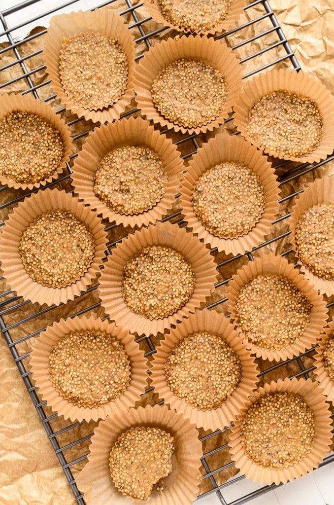 6-Ingredient No-Bake Quinoa Peanut Butter Cups