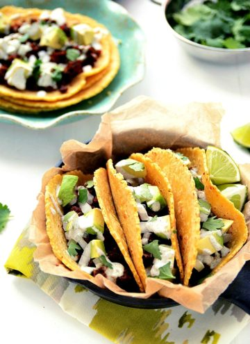 Vegan Chorizo Breakfast Tacos | by Blissful Basil