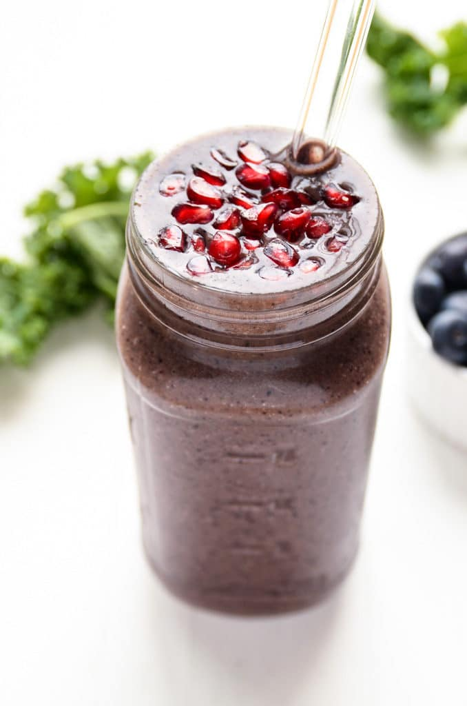Purple Power Detox Smoothie
