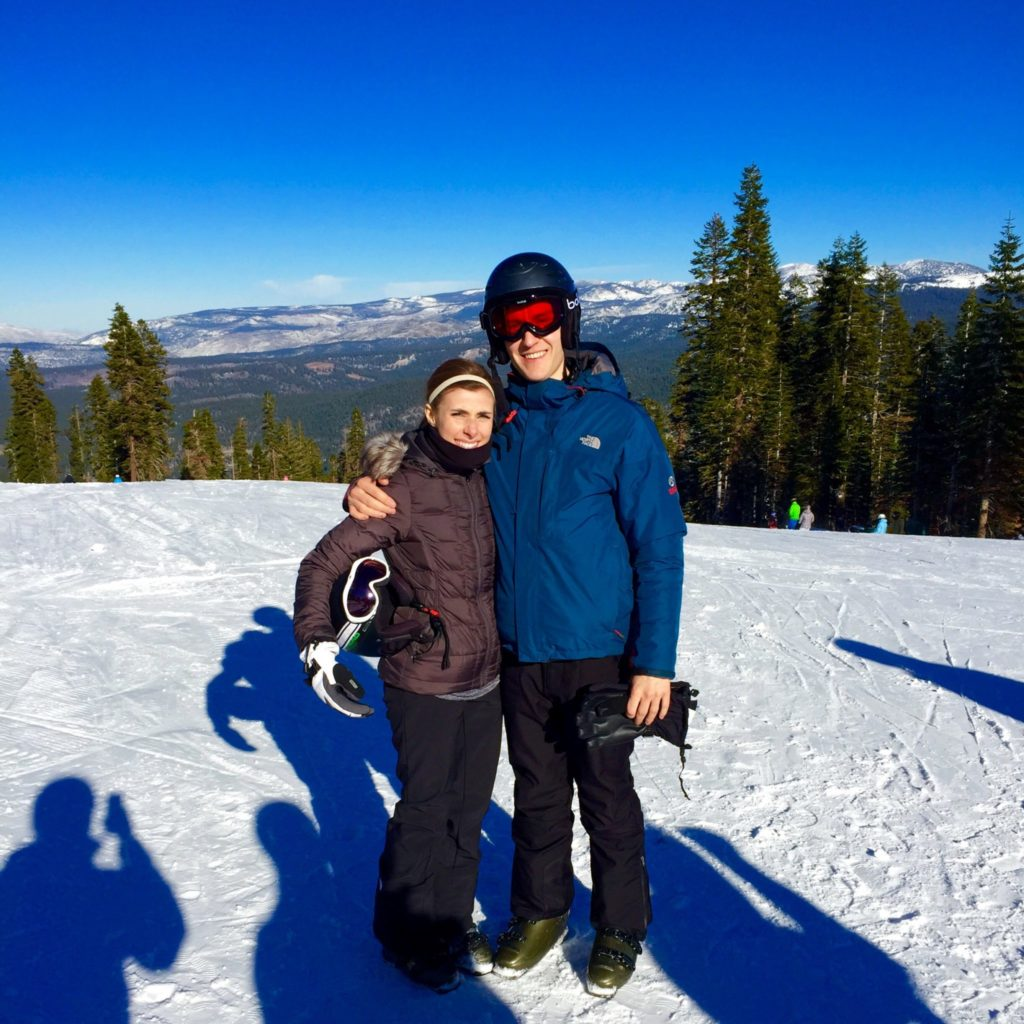 Skiing Northstar in Lake Tahoe