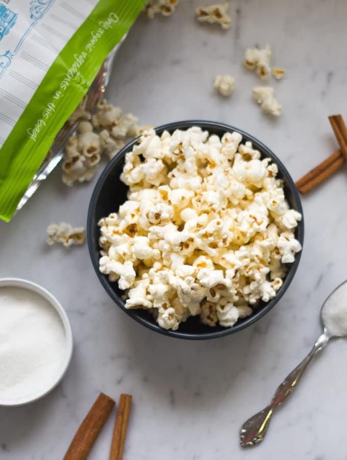 GH Cretors Organic Popcorn Giveaway