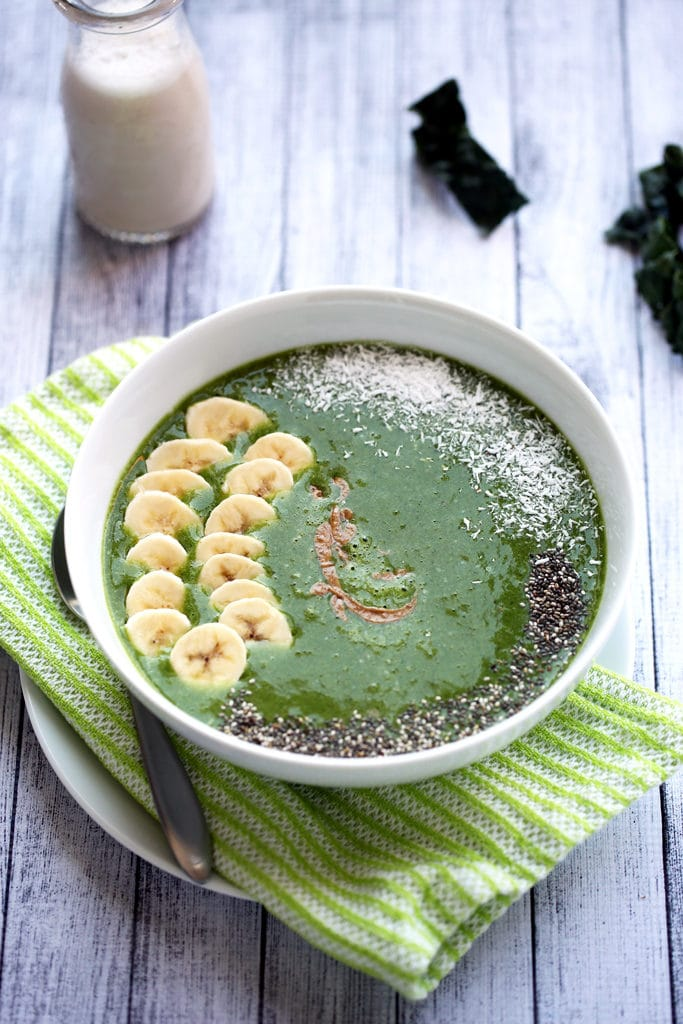 Energizing Green Shamrock Smoothie Bowl