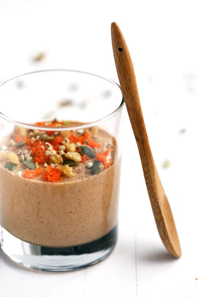 Raw Carrot Cake Buckwheat Porridge