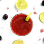 Refreshing Cherry-Lime Smoothie
