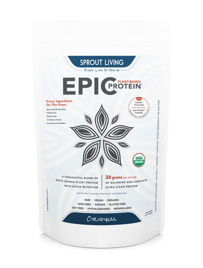 An Epic Giveaway: Plant-Based & Organic Protein