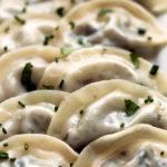 Shiitake and Oyster Mushroom Dumplings