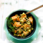 Sweet Potato Salad with Avocado Aioli