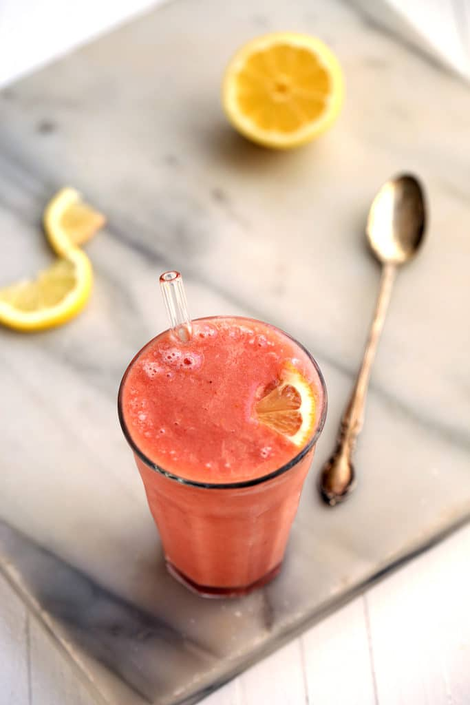 Refreshing Pink Lemonade Smoothie