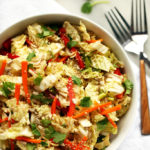 Napa Cabbage Salad with Sweet Tamari-Sesame Dressing