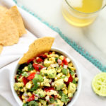 Sweet and Smoky Poblano, Corn + Avocado Salsa