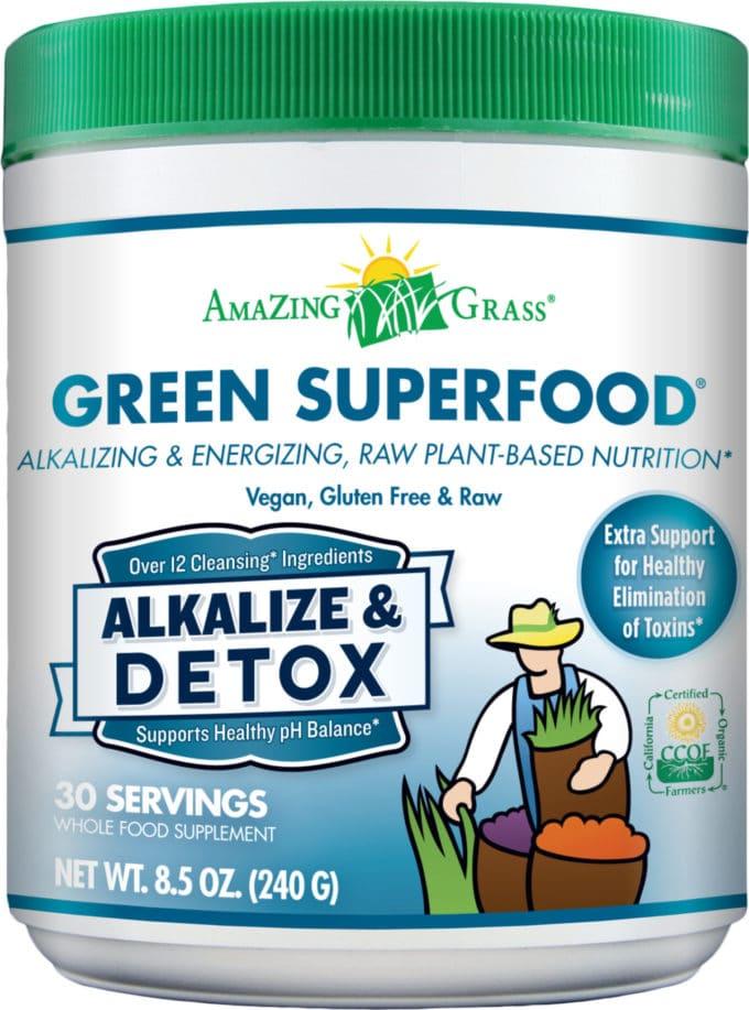 Amazing Grass Alkalize + Detox