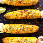 Grilled Cilantro, Lime + Paprika Corn on the Cob