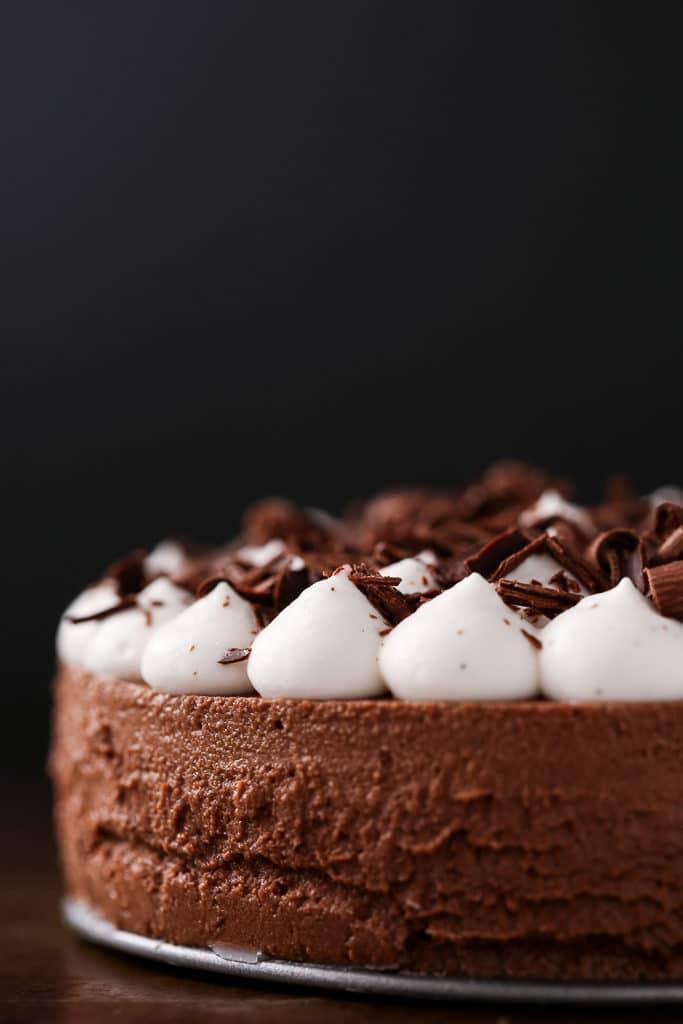 Best Easy Vegan Recipes - Vegan French Silk Pie | Homemade Recipes http://homemaderecipes.com/course/breakfast-brunch/vegan-recipes