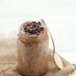 Energizing Maca, Almond Butter & Cacao Overnight Oats