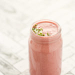 Creamy Strawberry, Cashew & Cardamom Smoothie