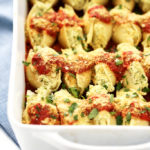 Cauliflower Ricotta Stuffed Shells from Nom Yourself: Simple Vegan Cooking + A Cookbook Giveaway!