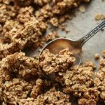 Peanut Butter Maca Granola Clusters (vegan, gf)