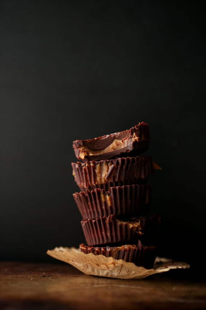 Jumbo Pumpkin Spice Caramel Cups | Vegan, Gluten-Free