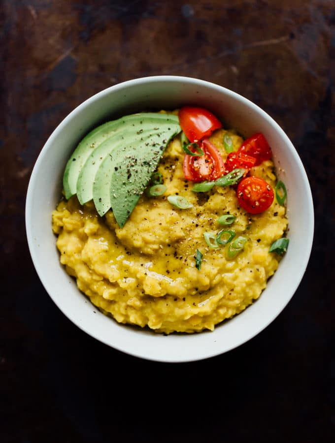 Yellow Split Pea Breakfast Bowl