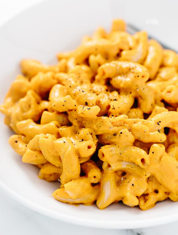 Smoky Vegan + Gluten-Free Mac 'n' Cheese