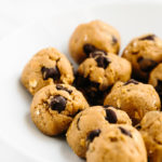 5-Minute Peanut Butter Chocolate Chip Cookie Dough