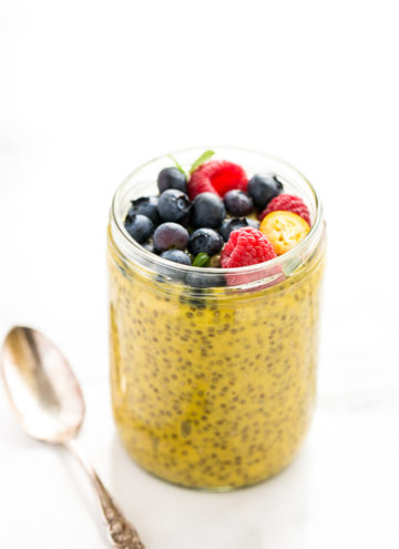Morning Mango Chia Pudding Cups