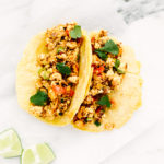 Mighty Migas Breakfast Tacos from The Taco Cleanse + A Giveaway!