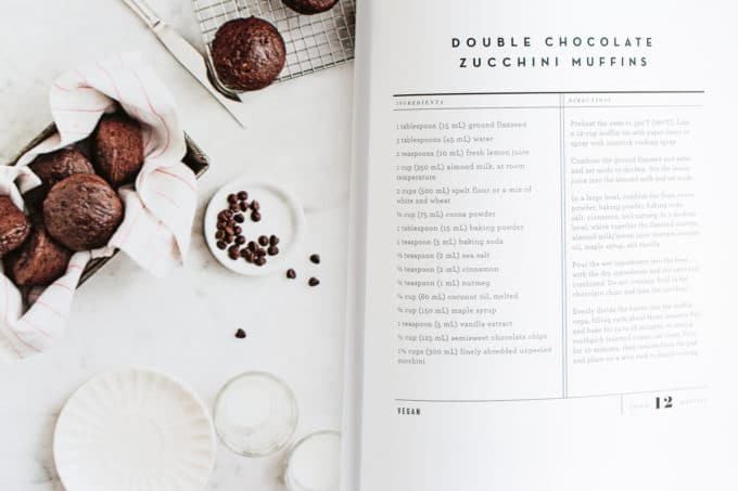 Double Chocolate Zucchini Muffins from the Love + Lemons Cookbook