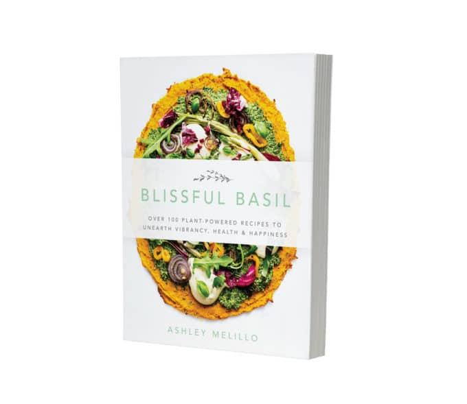 Blissful Basil Cookbook 3D Front Cover