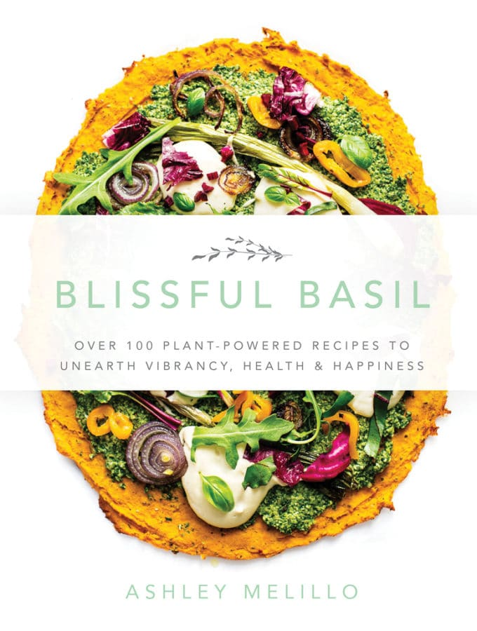Blissful Basil Cookbook Front Cover