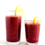Hydrating Cherry-Grape Lemonade Smoothie
