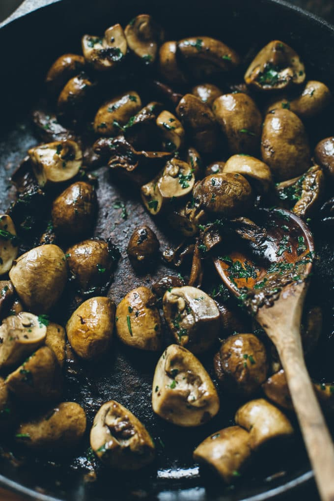 Vegan Mushroom Paella