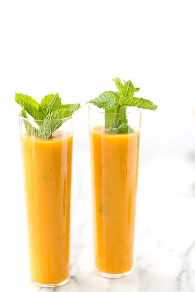 Nourishing Mango Passion Fruit Smoothie
