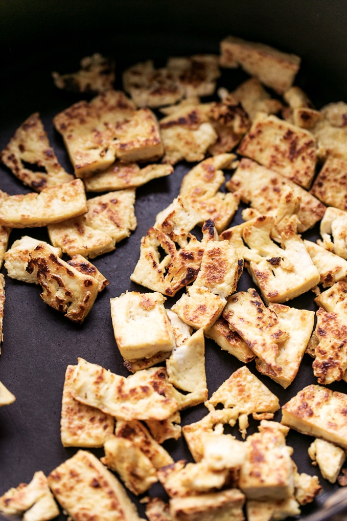 5-Ingredient Chile-Garlic Tofu