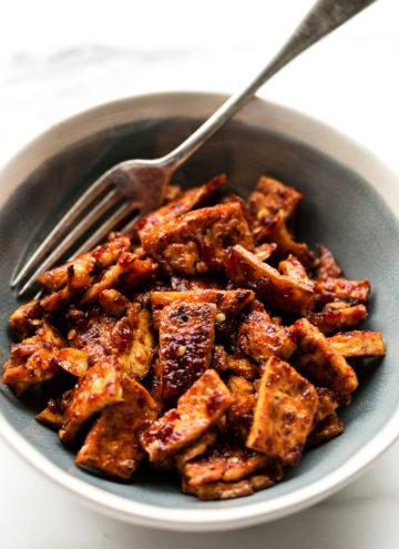 5-Ingredient Chile-Garlic Tofu