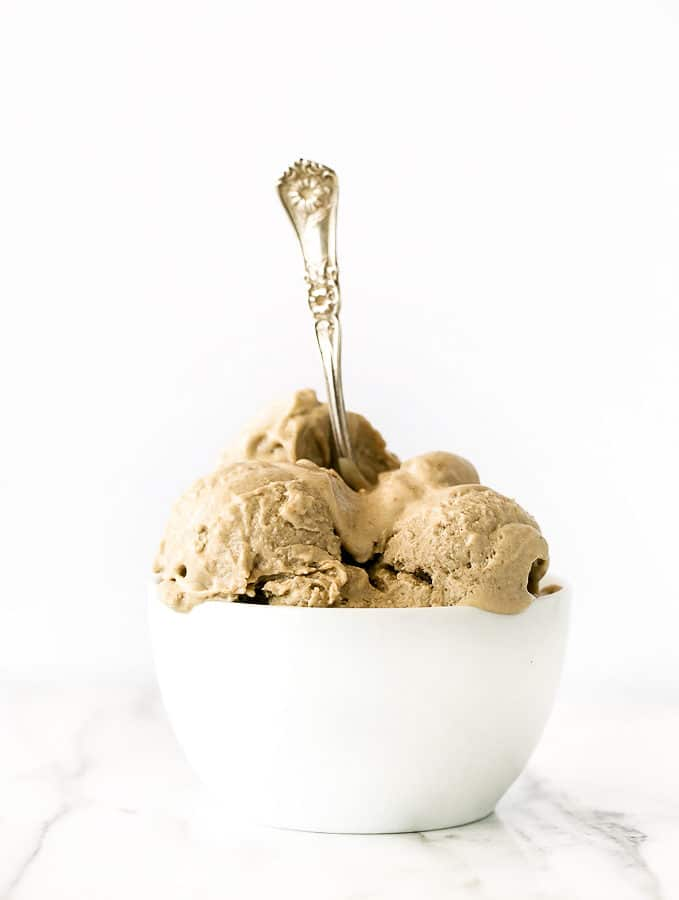 No-Churn Vegan Peanut Butter Ice Cream + The Cycle of Perfectionism